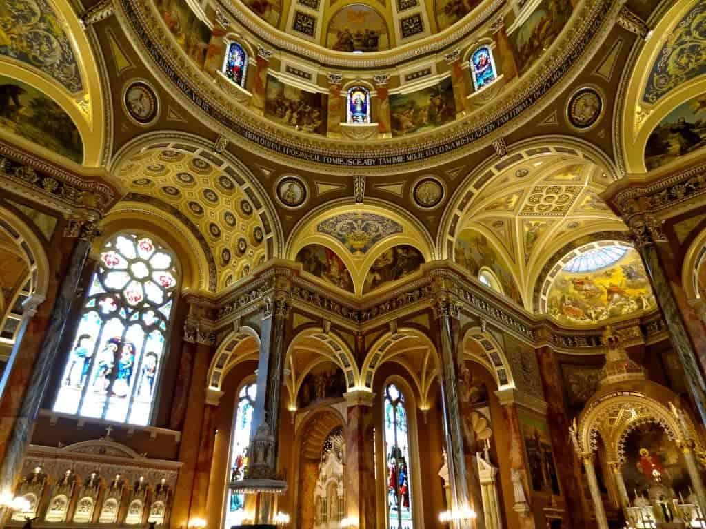 Interior of Milwaukee's Saint Josaphat Basilica